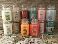 YANKEE CANDLE You Choose Scent - 22oz Large Jars & Tumblers Buy 1 get 1 25% off