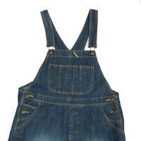 Vintage Distressed Denim Dungarees   Overalls Coveralls Work Wear Retro 90s Wash