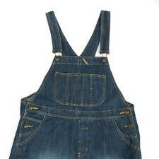 Vintage Distressed Denim Dungarees | Overalls Coveralls Work Wear Retro 90s Wash