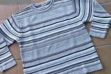 Pullover ,Damenpullover von Vicky Fashion  Gr. 42/44  gestreift ,Strick