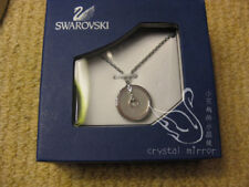 Genuine Swarovski Hidden mother of Pearl circle necklace 1056117prom birthday£69