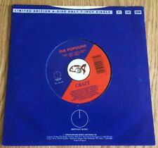 """Midnight Music DING77 The Popguns - Crazy (1989) 7"""" Limited Edition Single Vinyl"""