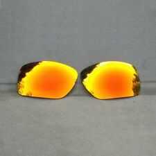 Orange Red Mirrored Replacement Lenses for-Oakley Big Taco Sunglass Polarized AU