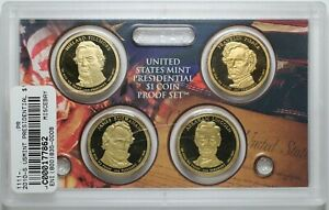 2010-S US Mint Presidential Dollar Proof Set No Box - 177862A