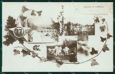 Varese Brenta 77º Reggimento Fanteria Manovre di Campagna Foto cartolina QT7681