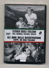 Dvd STORIA DEGLI ITALIANI 10 Gli anni della ricostruzione Coppi ISTITUTO LUCE
