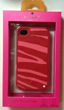 Kate Spade Pink Zebra Stripe iPhone 4/4S case cover