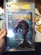Peter Parker: Spider-Man 1 CGC 9.8 SS x2 John Romita Sr. & Jr.