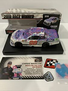 2018 Chase Briscoe #98 SHR Ford Charlotte ROVAL Raced  Win