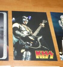 Kiss 1997 Promo Card CARTE P1 Gene Simmons Cornerstone NM