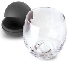 2 Piece Whiskey Glass And Ice Ball Set - 15 Oz. Whisky Glass w/ Ice Mold