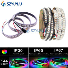 WS2812B led strip 5050 RGB 144led pixels dream color smart LED Addressable DC5V