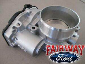 11 thru 14 F-150 OEM Genuine Ford Throttle Body w/ TPS Sensor 3.5L Ecoboost V6