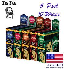 Zig Zag Premium Wrap Variety 10 Wraps Apple, BlueBerry, Cherry, Peach,Strawberry