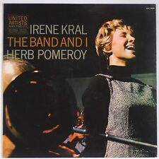 IRENE KRAL w/ HERB POMERY: Band and I UNITED ARTISTS ORIG DG Jazz LP