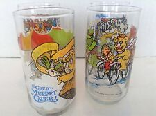 The Great Muppet Caper Henson Assoc Inc 1981 McDonalds 4 Beverage Water Glasses