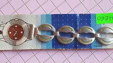 BRACELET MONTRE BICOLORE ACIER METAL COLOR/ WATCH BAND / 16mm /* REF/HB60