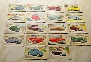 +++ Priory Tea 'I-SPY CARS' - 18 cards - all believed to be from 1958 set +++