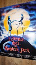 L' ETRANGE NOEL DE MONSIEUR JACK ! tim burton   affiche cinema