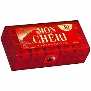 FERRERO-MON CHERI German Cherry Liqueur Chocolates Pralines 30pcs,315g. EU STOCK