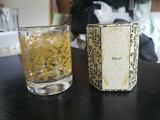 Tyler Candle 15-Hour Boxed Votive W/ Glass container Diva Ships in 24 hours!