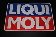 LIQUI MOLY Öl Oil Lubricant Aufkleber Sticker Decal Kleber Logo Schriftzug XXL 1