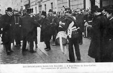 CPA 75 PARIS LES INVENTAIRES DANS LES EGLISES A ST PIERRE DU GROS CAILLOU LES SO