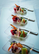 48 Small Plastic PLATES....... This item will add to your Royal Prestige Event!