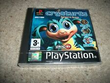 CREATURES - RAISED IN SPACE - For Playstation / PSOne / PS1 (NEW & SEALED)