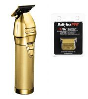 BaByliss PRO Hair Trimmer FX787G GOLDFX Outlining T-Blade Cordless & Replacement