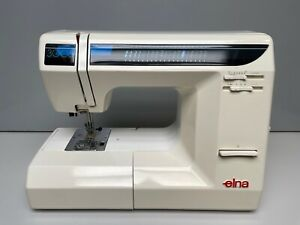 Elna 3005 Sewing Machine, Foot Contoller, Case and Feet