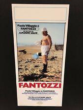 Fantozzi - locandina cm. 33x70 ristampa digitale in tiratura limitata