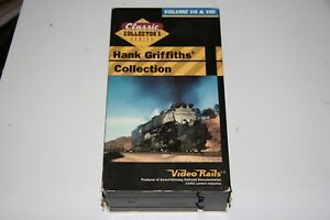 VHS VIDEO 2 TAPE SET TITLED:  HANK GRIFFITHS COLLECTION VOL 7 & 8 SHOWS SOME USE