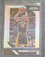2018-19 Panini Prizm Basketball Silver Parallel #55 Reggie Miller Indiana Pacers