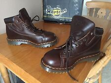 Dr Martens 9145 Gaucho Brown leather monkey boots UK 6 EU 39 England 939