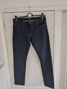 Mens Armani Jeans Navy Blue Slim Fit 34 W  31 L..