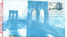 US FDC #2041 Brooklyn Bridge, Tudor House (6377)