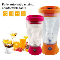 Electric Protein Shaker Bottle Electric Vortex Mixer Cup Portable Blender Drink