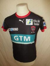 Maillot de rugby vintage RCT TOULON Puma Noir Taille 12 ans