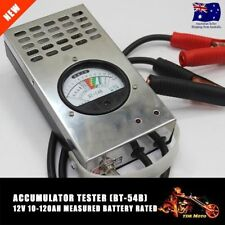 12 VOLT MOTORCYCLE MOTORBIKE BATTERY LOAD TESTER 100 AMP (STAINLESS STEEL CASE)