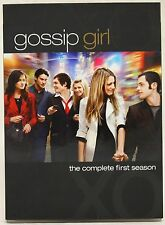 Gossip Girl - The Complete First Season DVD 2008 5-Disc Set Season 1 One