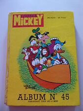 ALBUM 45 Le Journal de Mickey 1969 n°s 877 à 894 inc 883 spécial 40 pages Barbie