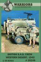 Warriors 1:35 British S.A.S Crew Western Desert 1942 2 Resin Figures Kit #35249