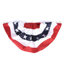 American Pleated Fan Flag USA American Bunting Decoration L RAC