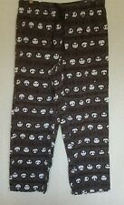 Disney Store Mens Lounge Pants M Nightmare Before Christmas Jack Flannel
