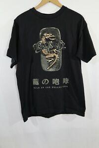 Vintage Aerosmith Roar of the Dragon Japan Tour Concert T Shirt 1999-2000 Sz L