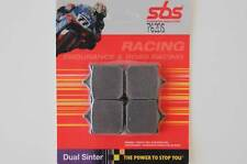 SBS 762 DS Dual Sinter Racing Bremsbeläge MV Agusta F4 1000 R brake pads front