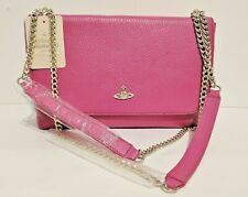 [STOCK CLEARANCE] Vivienne Westwood Fuschia Pink Balmoral Bag with Flap