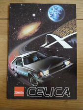 Unusual TOYOTA CELICA  Brochure jm