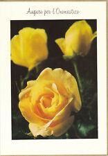 1 card Italian Name's Day - Greeting card - 25N General Namenstag